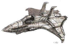 Space Jet by MeckanicalMind