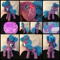MLP 13in 'Nameless BG Mare' Plushie .:Commission:. by RubioWolf