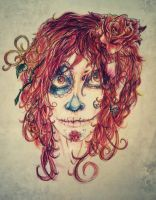 Day of the dead by ThatJuanArtist
