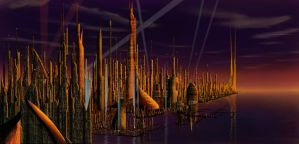 The City From The Future by Todrias