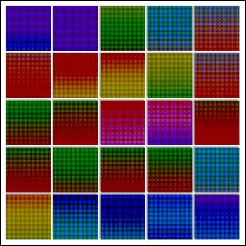 RBF 11.14  Colorful Grids 2 by rosebfischer