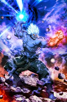 Street Fighter Unlimited 12  Oni by GENZOMAN