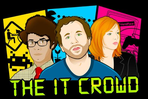 The IT Crowd by TomTrager