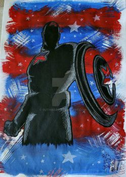 Captain America by ruthart