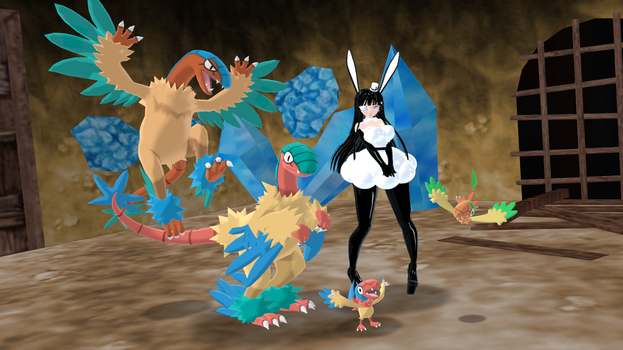 MMD - Archeops Line *DL* by Catty-Mintgum