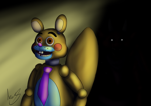 Animatronic Ace Squirrel by AceSquirrel