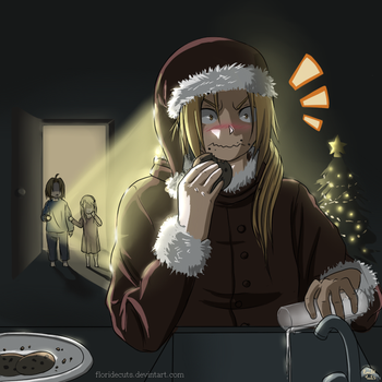 What are you doing Santa...? by FlorideCuts