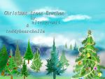 Christmas Trees Brushes by altergromit