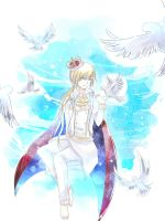 King of his own World by Kumie-san