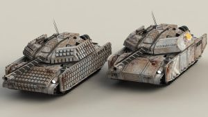 MT-4A3 and MT-4A2 by SteamTank