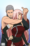 CM: Anka and Hidan by mongrelmarie
