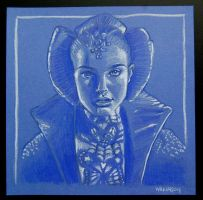 Padme sketch by sarahwilkinson