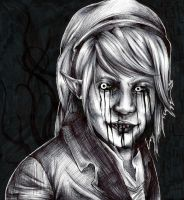 Ben Drowned Sketch by sugar-crzy-donut