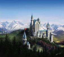 CastleCoverArt by rednotdead
