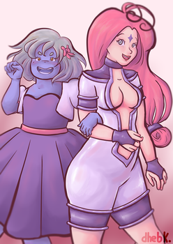 these two aliens by bells-chan